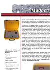 EdgeTech - Model 1500 - Portable Dew Point Monitor - Brochure