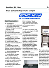 Echo - Model Hi Vol - Ambient Air Particle Samplers- Brochure