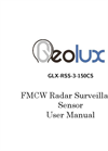 Geolux - Model RSS-3-150 CS FMCW - Security Radar Manual