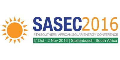 The 4th Southern African Solar Energy Conference (SASEC 2016)