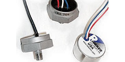 Rieker - Model B Series - Linear Static & Dynamic Accelerometers