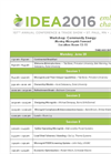 Community Energy: Moving Microgrids Forward Full Workshop Schedule- Brochure