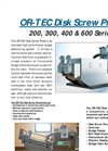 OR-TEC Disk Screw Press Flyer