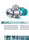 LBU VBU NHP Z - Multistage Horizontal and Vertical High Pressure Pumps Brochure