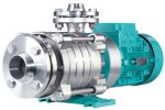 EDUR - Model LBU VBU NHP Z - Multistage Horizontal and Vertical High Pressure Pumps