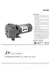 Model J+ - Convertible Jet Pumps Brochure