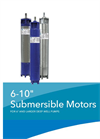 CentriPro - 6″ Larger Deep Well Submersible Motors- Brochure