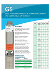 Model 5-25 Range (1/2 to 5 HP) - Submersible Well Pumps- Brochure