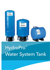ydroPro - Model V6P-V350 & T Series - Diaphragm Tanks Brochure