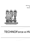 TechnoForce e-HV 10 001 287 - Mechanical Installation, Operation and Maintenance Manual
