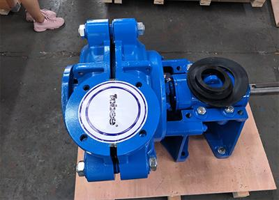Tobee® 6x4D-AH Slurry Pumps used in Pipeline transport and Mineral processing