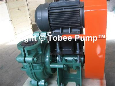 Tobee® Pump - Model THR - Tobee® TH Rubber slurry pump for transporting pulp in mines