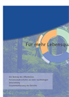 Executive Summary of Report: Bringing Quality To Life - Für mehr Lebensqualität (DE) (PDF 652 KB)