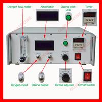 Globalozone - Model GO-D - medical ozone generator equipment for ozone sauna therapy
