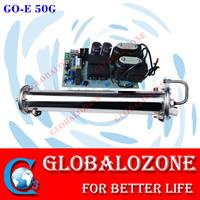 Globalozone - Model GO-E 50G - 50g/h water cooling stainless steel ozone generator parts for wastewater treatment