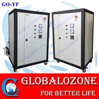 Globalozone - Model GO-YF 50G - 50G/H oxygen source ozone generator with PLC control for water treatment