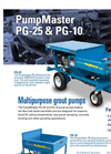 PumpMaster - Model PG-35 - Grout Pump Brochure