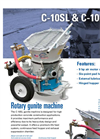 Airplaco - Model C10HHD - Dry Mix Shotcrete Gunite Machine Brochure