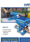 Airplaco - Model PG-10 - Hydraulic Grout Pump Brochure