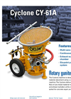 Cyclone - Dry Mix Shotcrete Gunite Machine  Brochure