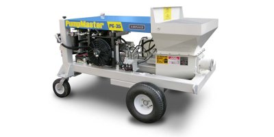 PumpMaster - Model PG-35 - Masonry Grout Pump
