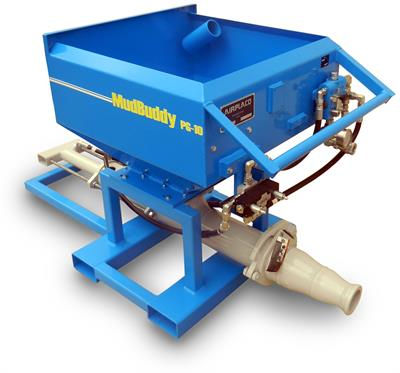 Airplaco - Model PG-10 - Hydraulic Grout Pump