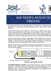 Model 600 Series - High Specification Micro Processor Controlled Acoustic Transmitters- Brochure
