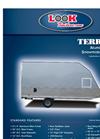 Terrain Master - Aluminum Snowmobile Trailers Brochure