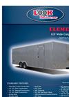 ELEMENT - Model SE - 8.5` Wide Cargo Utility Trailers Brochure