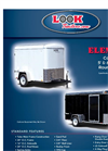 ELEMENT - Round Top 5` and 6` Wide Cargo Utility Trailers Brochure