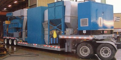 THERMO-CLEAN - Model 3000 series - Mobile Soil Remediation Systems
