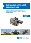 PBS - Model SAFIR 5K/G MIS - Auxiliary Power Unit - Brochure