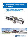 PBS ECS-M1V Environmental Control Systems - Brochure