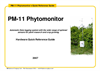 Model PM-11 - Phytomonitor- Brochure
