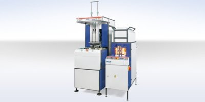 Model UPF-10 - Semiautomatic Blow Molding Machine