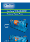 Dean Pump - Model pH Series - Horizontal ANSI Process Pumps - Brochure