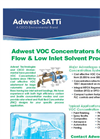 ADWEST TECHNOLOGIES, INC. - Model VOC - Concentrators Brochure