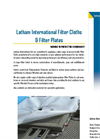 Filter Cloths & Filter Plates Brochure