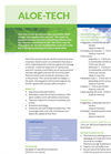 Aloe-Tech - Salicylic Acid  Brochure
