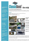 Classicbond EPDM Rubber Roofing Membrane Brochure
