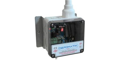 DEPOMATIK - Model RF - Water Level Controlled Wireless Automatic Tank Filling System