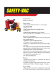 Safety-Vac - Model 15G100-4TC - High Pressure Regenerative Blower System - Brochure