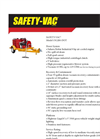 Safety-Vac - Model 15G200-DOT - High Pressure Regenerative Blower System - Brochure