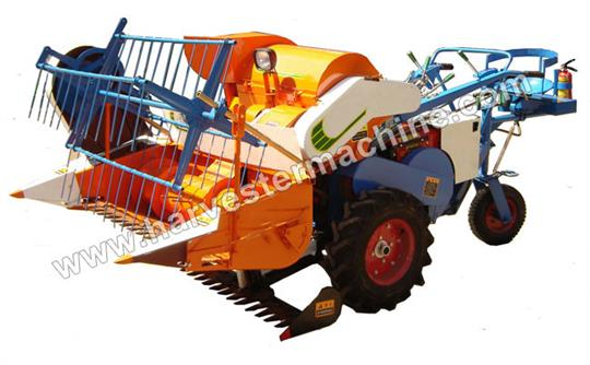 Driving Type Small Rice Combine Harvester