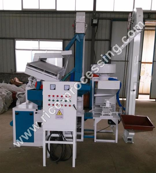 MLNH 15 Complete Set Rice Milling Equipment