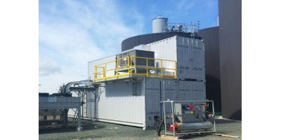 Hydraulic and Power Control Module for Anaerobic Digestion