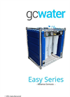 GCWater - Model Easy Series - Reverse Osmosis Unit - Brochure