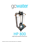 GCWater - Model HP 800 - High Pressure Reverse Osmosis Unit - Brochure