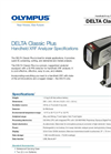 DELTA Classic Plus Handheld XRF Analyzer Spec. Sheet