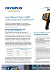 DELTA - Lead Paint Handheld XRF Analyzer Brochure